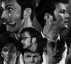 12 David Tennant study by harbek on DeviantArt