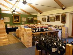 Another interior view with a Wine Sale on view Wine Sale, The Saleroom, Antique Auctions, Construction, Antiques, Interior, House, Home Decor, Building