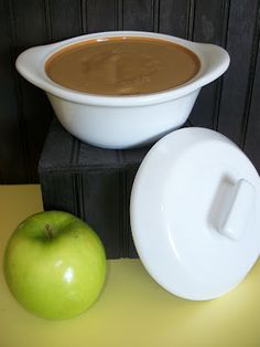 Homemade Caramel Dip ~ New Pampered Chef Product | Lark's Country Heart