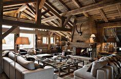 Location prestige Chalet Megeve : Chalet d'exception situé dans un écrin de nature, uniquement accessible ...