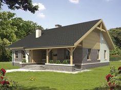 Modern Contemporary Homes, Bungalow House Design, Home Technology, Dream House Plans, Facade House, Log Homes, Home Fashion, Future House, Planer