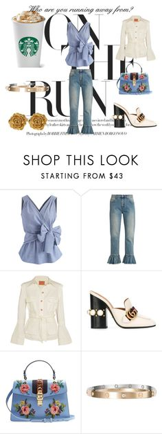 """Happy Thursday!  #mood"" by iamnormag on Polyvore featuring Chicwish, MSGM, Maggie Marilyn, Gucci, Cartier and Liberty"