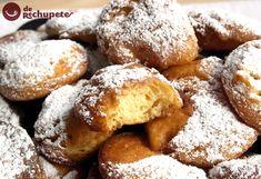 Crespillos o buñuelos de Carnaval - Recetasderechupete.com