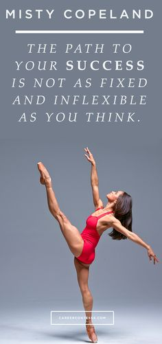 Make your own path to #success. #ContessaQuotes #MistyCopeland