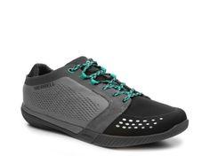 Men's Merrell Roust Fury Hiking Shoe - Grey/Teal