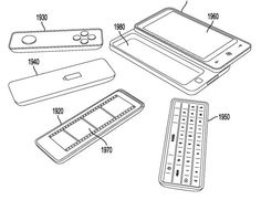 Microsoft patented a modular cell phone!  Replaceable components based on what you are using your smart phone for, like a game controller or keyboard.  Cool idea!