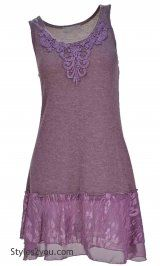 AP Patsy Tunic In Mauve