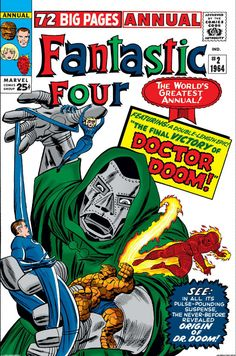 """Fantastic Four Annual #2, """"The Final Victory of Doctor Doom!"""", Art: Jack Kirby"""