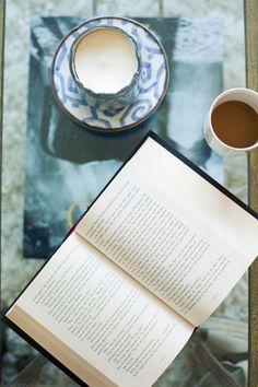 Chá com livros …