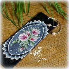 Oxi for the first time: Lace cd The Joy Of Painting, Lace Painting, One Stroke Painting, Bottle Painting, Folk Art Flowers, Flower Art, Tole Painting Patterns, Parchment Craft, Bottle Crafts