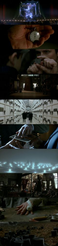 The Prestige (2006) Directed by Christopher Nolan. Cinematography by Wally Pfister.