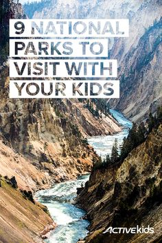 An outdoor adventure is always a fun way to spend time as a family. Check out these nine national parks that are great places to visit with your kids.