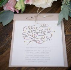 Wedding Invitations For Spring from rusticweddingchic.com