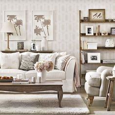 Colonial style living room | Living room | PHOTO GALLERY | Ideal Home | Housetohome.co.uk