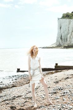 anniek kortleve model2 By the Sea: Anniek Kortleve at the Beach for LOfficiel Mexico by Sevda Albers