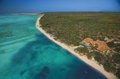 Azura is located on Benguerra Island in Mozambique's Bazaruto Archipelago. Azura Benguerra Island is a luxury eco lodge with deluxe beach villas and a spa. Marine National Park, National Parks, Mozambique Beaches, Boutique Retreats, Boutique Hotels, Villa, Beach Holiday, Nature Reserve, Africa Travel