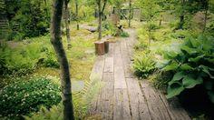 枕木の小道 – 新潟市のガーデンデザイン★雑木のお庭のことならアンクルペペにお任せ下さい!