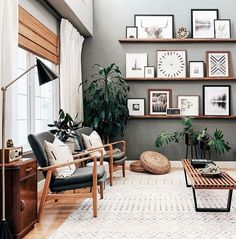 """""""Home decor ideas for modern living room"""" there are a many type of hall design, discover beautiful modern living room interior design here: check out  """"17 Beautiful Home Decor Ideas For Modern Living Room On A Budget"""". #homedecor #livingroom #livingroomideas Living Room On A Budget, Home Living Room, Apartment Living, Interior Design Living Room, Modern Living Room Designs, Living Room Wall Art, Modern Interior, Nordic Living Room, Interior Decorating Styles"""