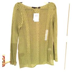thin knit sweater thin knit sweater, a brand new label Jeanne pierre Sweaters Crew & Scoop Necks