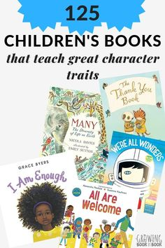 Children's Books About Character: A big list of kids' books that teach character from kindness to respect. charactereducation booklists booksforkids growingbookbybook via 12314598967640735 Homeschool Kindergarten, Preschool Books, Elementary Counseling, Career Counseling, Elementary Schools, Read Aloud Books, Children's Books, Good Books, Positive Character Traits
