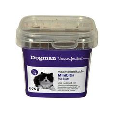 Kissan juustopalat, Dogman - 75 g - Petenkoiratarvike.com