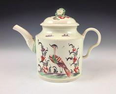 Leeds Pottery creamware teapot - Philip Carrol Antiques C.1775