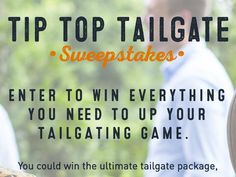 Limit one entry per person per 24-hour period to win a $500.00 McAlister's Deli Gift Card; $500.00 VISA Gift Card; and a pop-up tent. Enter now.