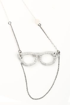 Shoptiques — Yarn-Wrapped Glasses Necklace