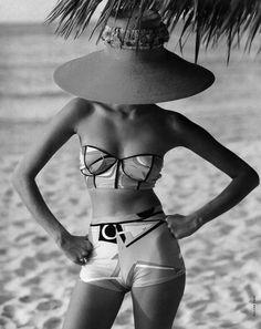 High fashion on the sand