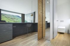 All bathrooms at the 7132 Hotel in Vals, Switzerland are equipped with TOTO Washlets