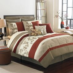 Royal Heritage Home™ Sagamore Queen Complete Bed Ensemble - Bed Bath & Beyond- would love to have this