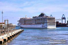 MSC SPLENDIDA CRUISE SHIPS #MSC #CRUISE #GENOVA