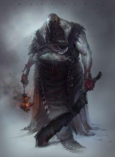 Watchers by Roman Kuzmin Igorevich Inspired by Bloodborne