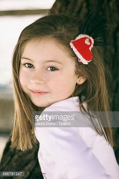 Stock Photo : Close-Up Of Cute Girl