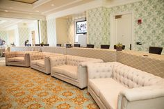 The Breakers Palm Beach: Comfort is a priority, especially during lengthy meetings, Wilde says. Offering multiple seating options can keep attendees engaged and also suit different personalities.