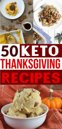 Keto Thanksgiving recipes!! These low carb Thanksgiving recipes are so yummy! So many keto fall recipes for my keto diet!!! Just cause' you're on a keto diet doesn't mean you can't have keto stuffing, keto pumpkin desserts, low carb pie & more!