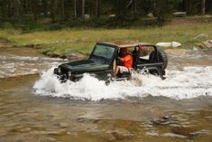 Jeep Off-Roading 101: Mud and Water