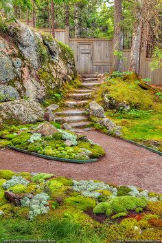 Thuya Garden is located in Northeast Harbor, Maine on Mount Desert Island, next to Acadia National Park.   Flickr - Photo Sharing!