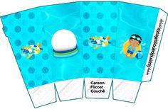 boy pool party