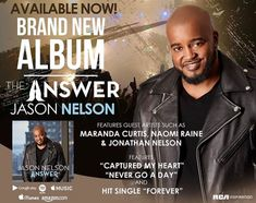 "#NewMusicAlert Pastor Jason Nelson released his highly anticipated album ""The Answer"" TODAY! #GospelMusic #JasonNelson https://www.firstladyb.com/pastor-jason-nelson-brand-new-album-the-answer-available-today/"