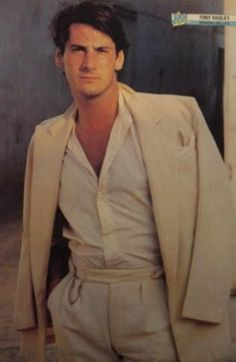 Tony Hadley of Spandau Ballet.  1980s dreamboat who still looks pretty damn good today.