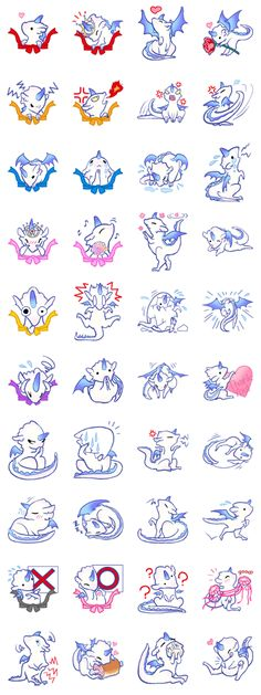 wing&tail (dragon) - LINE Creators' Stickers