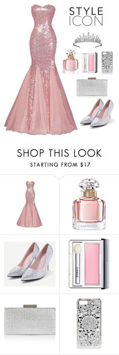 """Princess"" by iamniharika ❤ liked on Polyvore featuring Guerlain, Clinique, Monsoon, Felony Case and Van Cleef & Arpels"
