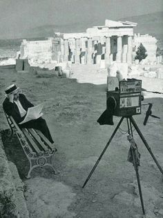 1961 ~ At the Acropolis of Athens