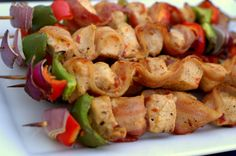 Team Traeger   Spicy Bacon-Wrapped Chicken Skewers