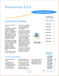 Employee Newsletter Template Download At Http