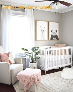 20 Baby Girl Room Ideas (The Cutest Overload) Baby nursery ideas √ 27 Cute Baby Room Ideas: Nursery Decor for Boy, Girl and Unisex 📷 shared by Designer Baby, Baby Nursery Decor, Baby Decor, Themed Nursery, Baby Nursery Ideas For Girl, Simple Baby Nursery, Baby Room Girls, Baby Animal Nursery, Babies Nursery
