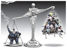 Editorial Cartoon: Scale of Injustice By: Bill Day Saturday, December, 13th, 2014, 5:23 pm