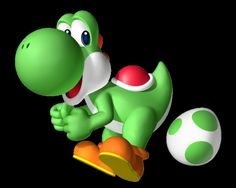 Yoshi is a recurring character in the Mario franchise and has since gone on to star in his own games. Mario Und Luigi, Mario Bros., Mario Party, 3d Street Art, Super Mario Bros, Super Smash Bros, Image Mario, Fantasy Football League, Green Characters