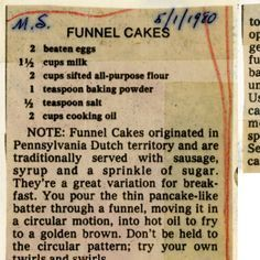 Funnel Cake Recipe Self Rising Flour.Funnel Cakes :: Historic Recipe Tweaked Self . Self Rising Pineapple Upside Down Cake Recipe . Retro Recipes, Old Recipes, Vintage Recipes, Baking Recipes, Sweet Recipes, Cake Recipes, Dessert Recipes, Recipies, Smoker Recipes